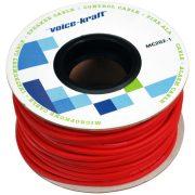 Voice-Kraft ROLLMC202-1 piros Ø 6mm mikrofonkábel