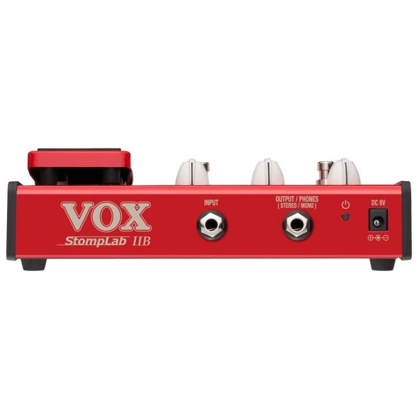 VOX Stomplab 2 B Basszus multieffekt, expression pedállal