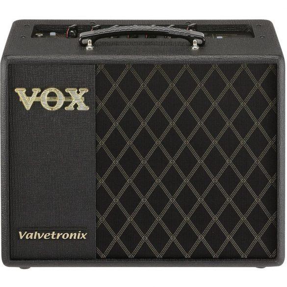 """Vox VT20X,VET technológiás modellező gitárerősítő, Valvetronix, 1x8"""" hangszóró, 20W, USB, ToneRoom"""
