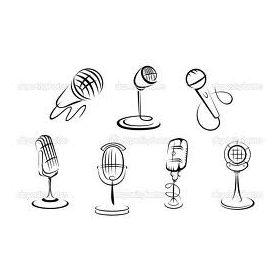 Broadcast (pl:puska...) mikrofonok