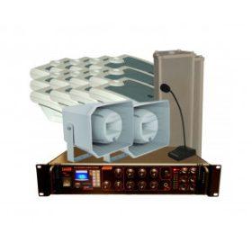Épülethangosítás (100 V rendszerek)